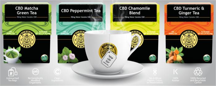 CBD herbal teas