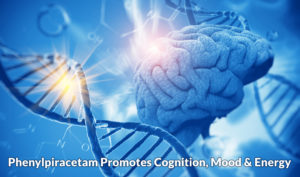 Phenylpiracetam promotes cognition, mood & energy