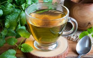 Savory and healing herbal tea