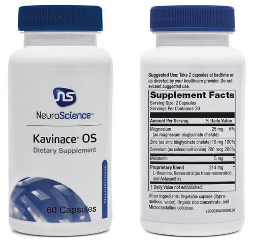 Kavinace OS Capsules by NeuroScience
