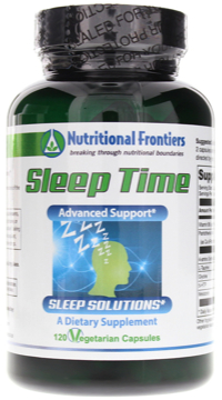 Sleep Time by Nutritional Frontiers