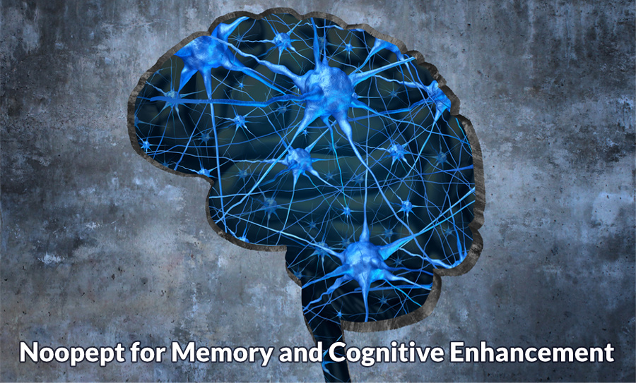 Noopept for memory and cognitive enhancement