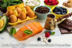 Brain foods with natural nootropic properties
