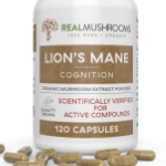Lion's Mane Mushroom Capsules from Real Mushrooms