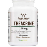 Theacrine (TeaCrine) Capsules from Double Wood Supplements