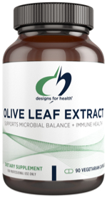 Olive leaf extract capsules by Designs for Health