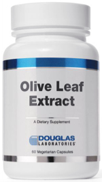 Olive leaf extract capsules by Douglas Laboratories