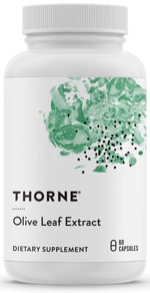 Olive leaf extract capsules by Thorne